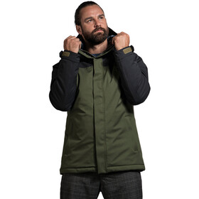Tatonka Stir Kapuzenparka Herren dark black/green
